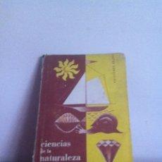Libros de segunda mano: CIENCIAS DE LA NATURALEZA 1958 ED.BRUÑO. Lote 145982525
