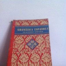 Libros de segunda mano: GRAMÁTICA ESPAÑOLA 1940 ED.LUIS VIVES. Lote 145983125