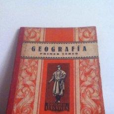 Libros de segunda mano: GEOGRAFÍA. ED. LUIS VIVES 1939. Lote 145983278