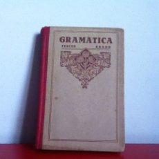 Libros de segunda mano: GRAMÁTICA ED. LUIS VIVES. 1940. Lote 145992378