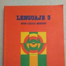 Libros de segunda mano: LENGUAJE 3, EGB CICLO MEDIO, SANTILLANA. Lote 146128382