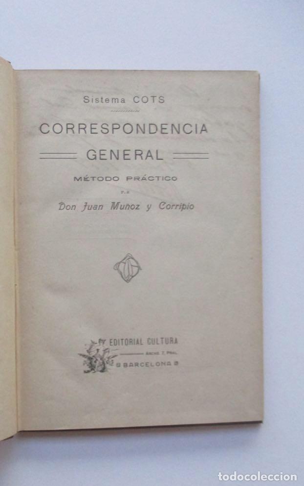 Libros de segunda mano: CORRESPONDENCIA GENERAL - SISTEMA COTS - EJEMPLAR AUTOGRAFIADO POR EL AUTOR - Foto 2 - 146452438