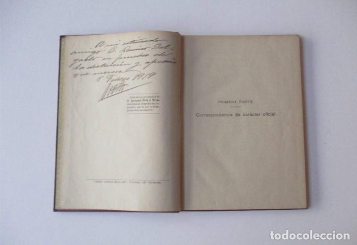Libros de segunda mano: CORRESPONDENCIA GENERAL - SISTEMA COTS - EJEMPLAR AUTOGRAFIADO POR EL AUTOR - Foto 3 - 146452438