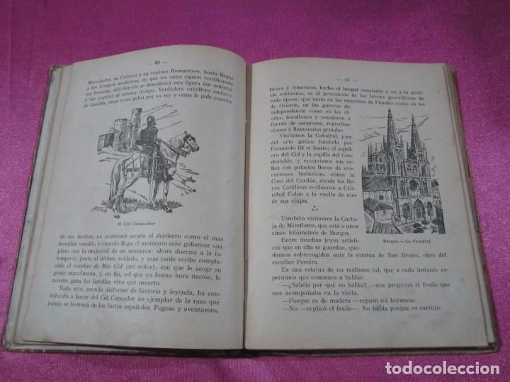 Libros de segunda mano: VIAJANDO POR ESPAÑA , ANTONIO J. ONIEVA . HIJOS DE SANTIAGO RODRIGUEZ - Foto 3 - 146475922