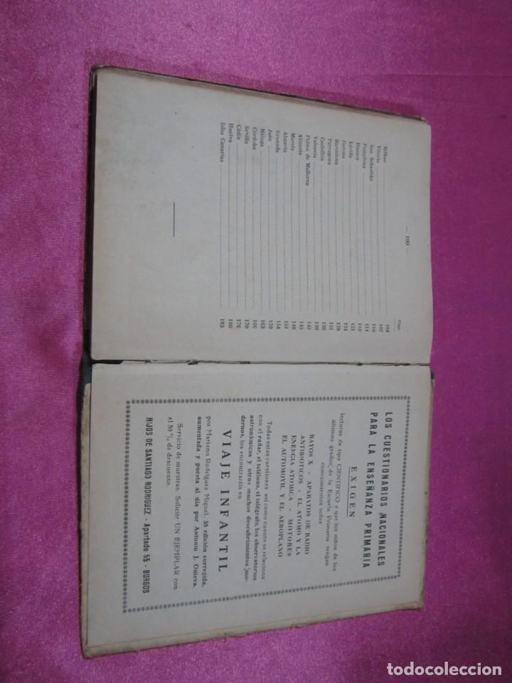 Libros de segunda mano: VIAJANDO POR ESPAÑA , ANTONIO J. ONIEVA . HIJOS DE SANTIAGO RODRIGUEZ - Foto 10 - 146475922
