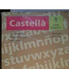 Libros de segunda mano: CASTELLA 1 CICLE SUPERIOR -EDUCACIO PRIMARIA -AÑO 1997. Lote 146534346