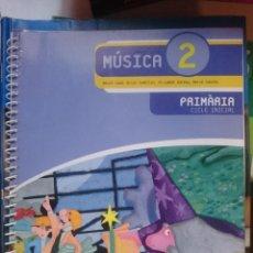 Libros de segunda mano: MUSICA 2 - PRIMARIA CICLE INICIAL - LIBRO -AÑO 2007 . Lote 146538750