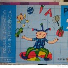 Libros de segunda mano: PROJECTE D´ACTIVACIO DE L´INTELLIGENCIA -PAI 2 -2001 -ED. CRUÏLLA. Lote 146539046