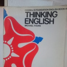 Libros de segunda mano: THINKING ENGLISH 4 . Lote 146540454