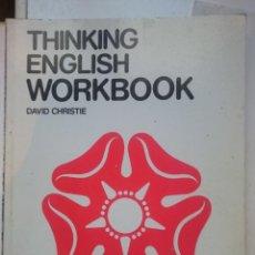 Libros de segunda mano: THINKING ENGLISH WORKBOOK. Lote 146540538