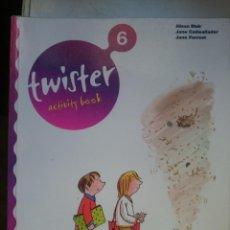 Libros de segunda mano: TWISTER ACTIVITY BOOK 6 -AÑO 2007 -ED. RICHMOUND PUBLISHITING. Lote 146540758