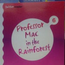 Libros de segunda mano: TWISTER READER - PROFESSOR MAC IN THE RAINFOREST 6 -2007. Lote 146541578