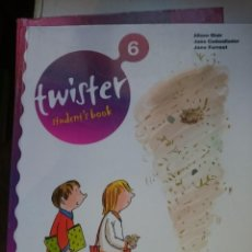 Libros de segunda mano: TWISTER STUDENT´S BOOK 6 -AÑO 2007 . Lote 146541698