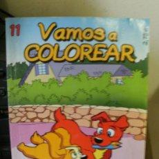Libros de segunda mano: VAMOS A COLOREAR N 11. Lote 146541822