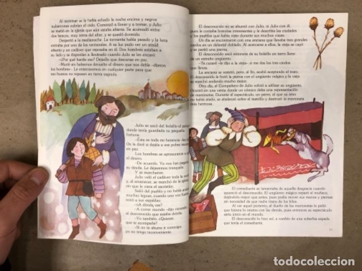 Libros de segunda mano: LAS TRES PALABRAS MÁGICAS. FANTASÍA Y LECTURA 4º EGB. SANTILLANA EDITORES 1983. - Foto 4 - 146558622