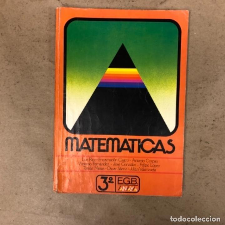 Libros de segunda mano: MATEMÁTICAS 3º, 4º y 5º DE EGB. EDICIONES ANAYA 1987. - Foto 6 - 146559730