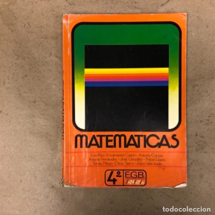 Libros de segunda mano: MATEMÁTICAS 3º, 4º y 5º DE EGB. EDICIONES ANAYA 1987. - Foto 12 - 146559730