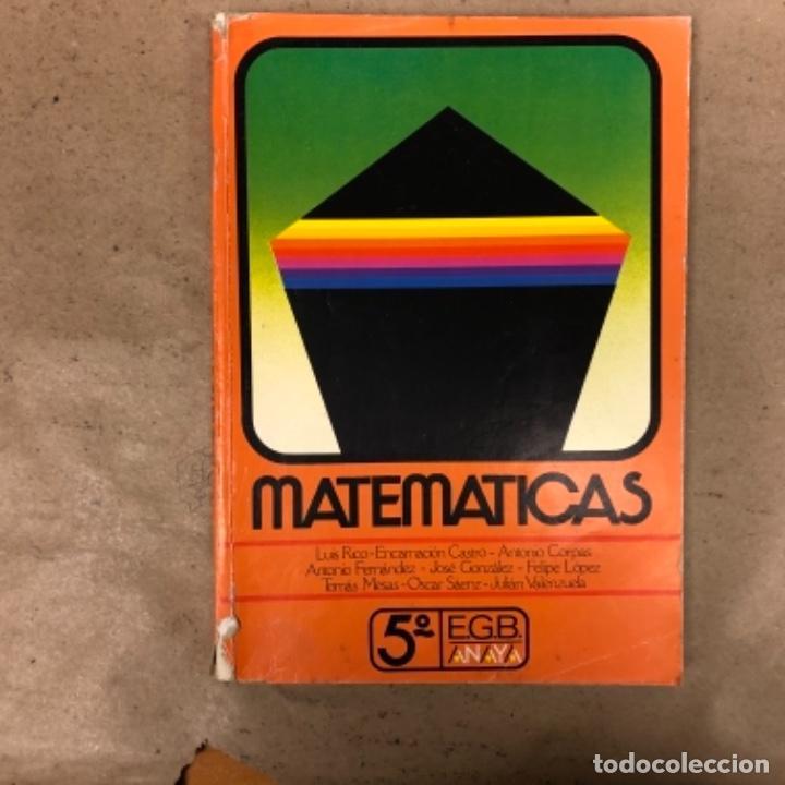 Libros de segunda mano: MATEMÁTICAS 3º, 4º y 5º DE EGB. EDICIONES ANAYA 1987. - Foto 22 - 146559730
