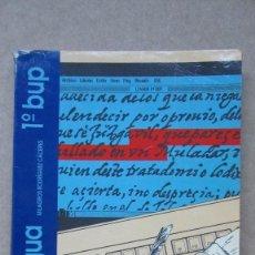 Libros de segunda mano: LENGUA 1º BUP MAGISTERIO CASALS. Lote 146767306