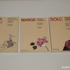 Libros de segunda mano: LIBROS DE CATALAN DE BACHILLERATO. Lote 146998622