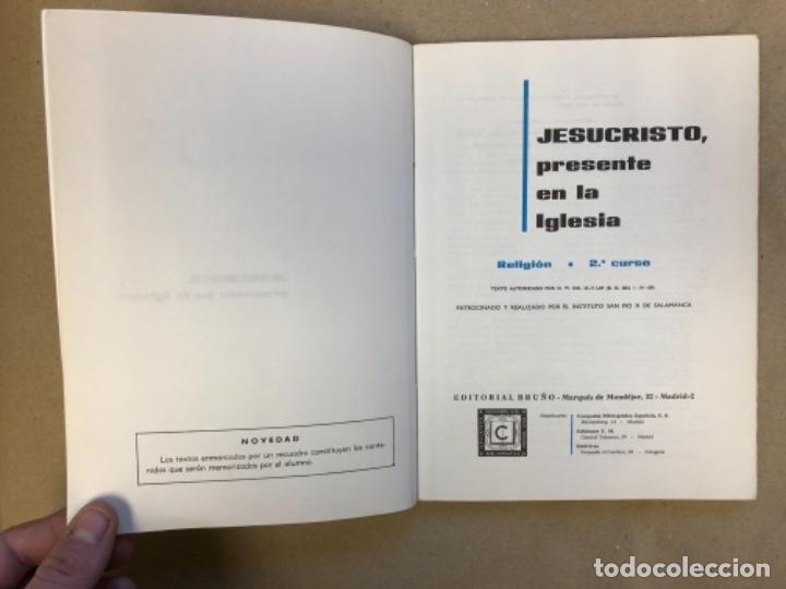 Libros de segunda mano: LOTE DE 4 LIBROS DE RELIGIÓN (1º, 2º, 3º y 4º CURSO). EDITORIAL BRUÑO 1969/70/71. - Foto 9 - 147046394