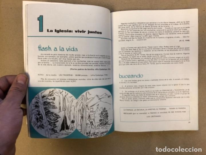 Libros de segunda mano: LOTE DE 4 LIBROS DE RELIGIÓN (1º, 2º, 3º y 4º CURSO). EDITORIAL BRUÑO 1969/70/71. - Foto 28 - 147046394