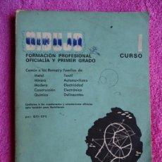 Libros de segunda mano: DIBUJO TECNICO OFICIALIZA INDUSTRIAL 1º EDICIONES DON BOSCO 1973. Lote 147052294