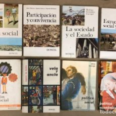 Libros de segunda mano: LOTE DE 8 LIBROS DE EDUCACIÓN CÍVICO-SOCIAL Y POLÍTICA. DESDE 6º DE PRIMARIA A 6º DE BACHILLERATO.. Lote 147052970