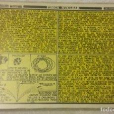 Libros de segunda mano: DISTEIN. FISICA NUCLEAR. SERIE RESUMENES Nº16 1970. FICHA TÉCNICA, FORMULARIO, CHULETA. Lote 147519362
