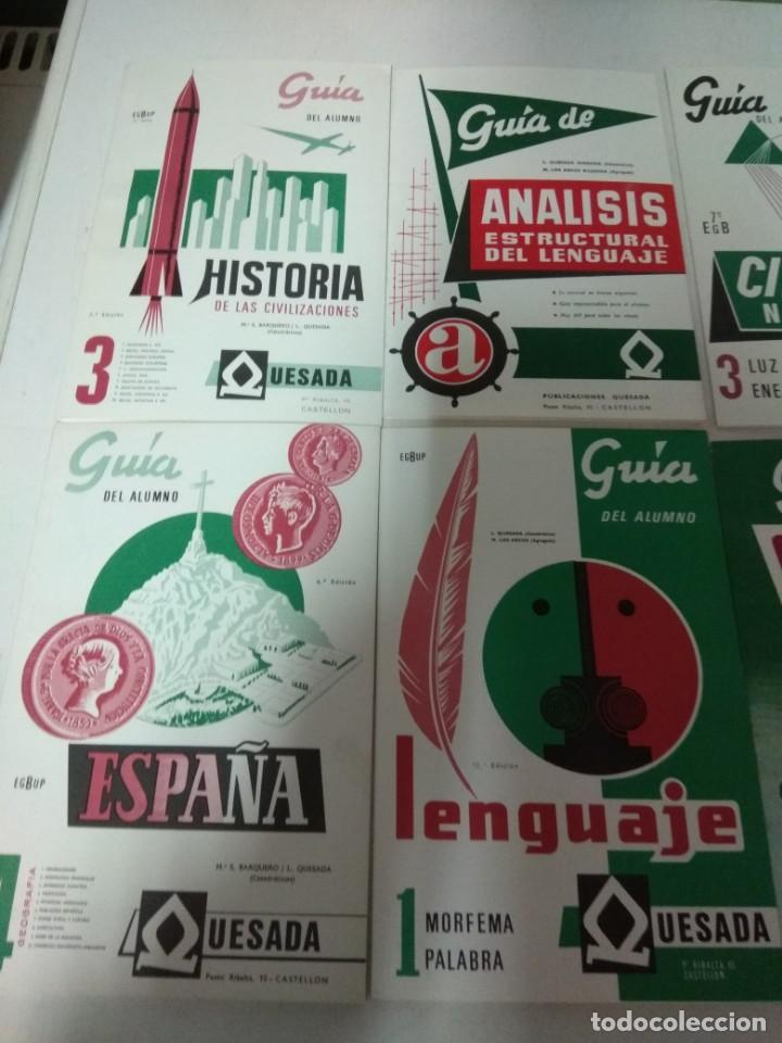 Libros de segunda mano: Lote resumen guías alumno de la editorial Quesada - Foto 2 - 147756138