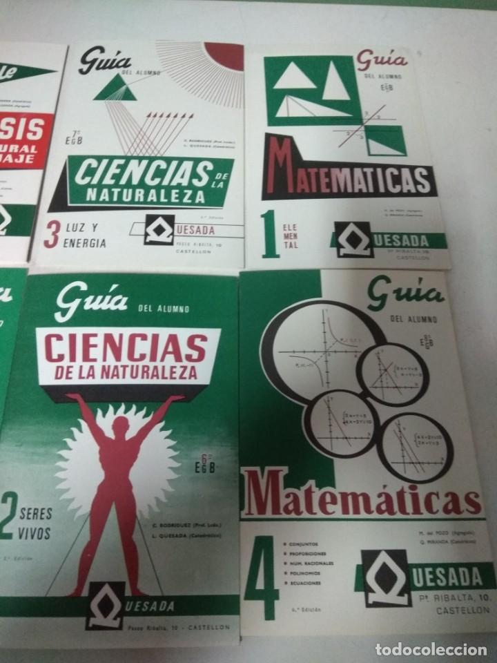 Libros de segunda mano: Lote resumen guías alumno de la editorial Quesada - Foto 3 - 147756138