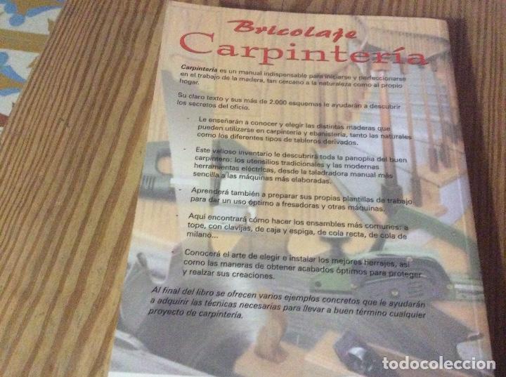 Libros de segunda mano: Carpintería. Bricolaje - GALLAUZIAUX , THIERRY.FEDULLO , DAVID Paraninfo - Foto 8 - 147767994
