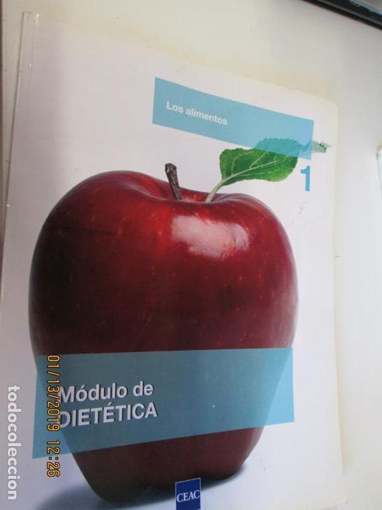 MODULO DE DIETETICA 1 LOS ALIMENTOS CEAC OCTUBRE 2008 (Libros de Segunda Mano - Libros de Texto )