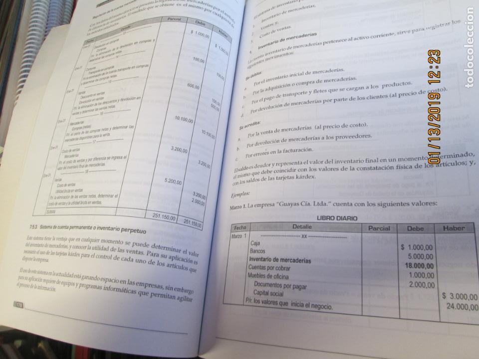 Libros de segunda mano: CONTABILIDAD GENERAL UNIVERSIDAD TECNICA DE LOJA - LUPE BEATRIZ ESPEJO JARAMILLO - Foto 5 - 147777466