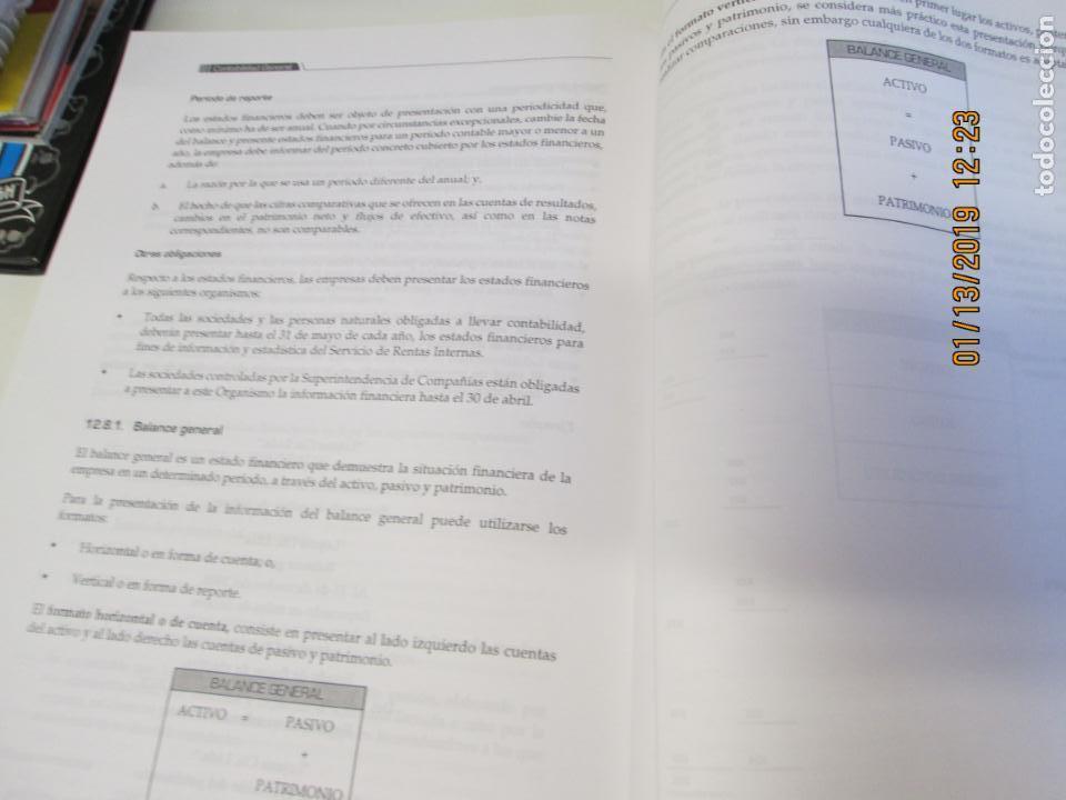 Libros de segunda mano: CONTABILIDAD GENERAL UNIVERSIDAD TECNICA DE LOJA - LUPE BEATRIZ ESPEJO JARAMILLO - Foto 6 - 147777466