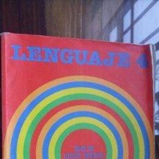 Libros de segunda mano: LENGUAJE 4 SANTILLANA 1986 EGB CICLO MEDIO. Lote 147837382