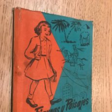 Libros de segunda mano: FIGURAS Y PAISAJES. SEGUNDO LIBRO DE LECTURA. VILLERGAS, JOSÉ Mª. 1962.. Lote 148014498