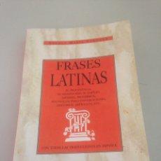 Libros de segunda mano: FRASES LATINAS. Lote 148168365
