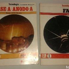 Libros de segunda mano: TECNOLOGÍA/ELECTRICIDAD Y ELECTRÓNICA, EQUIPO E.T.P.-RIPOLLES F.P.1, AMBOS 1A EDICIONES.. Lote 148169820