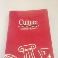 Libros de segunda mano: CULTURA COMPENDIO - RESUMEN / CENTRO DE ESTUDIOS ADAMS. Lote 148171052