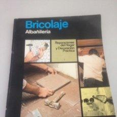 Libros de segunda mano: BRICOLAJE - ALBAÑILERÍA. Lote 148173526