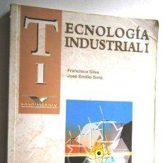 Libros de segunda mano: TECNOLOGÍA INDUSTRIAL 1º BACHILLERATO POR SILVA Y SANZ DE ED. MCGRAW HILL EN MADRID 1997. Lote 148376410