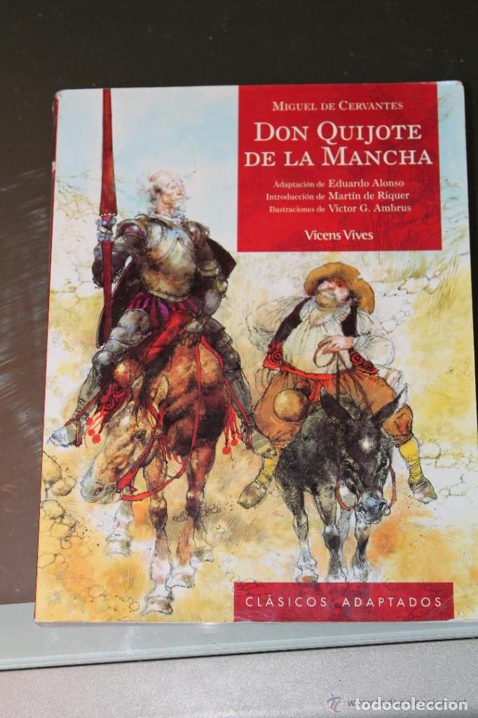 DON QUIJOTE DE LA MANCHA (Libros de Segunda Mano - Libros de Texto )