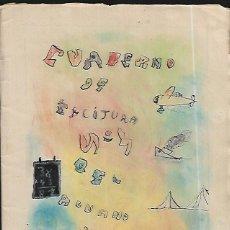 Gebrauchte Bücher - CUADERNO MANUSCRITO DE UN ALUMNO .- CURSO 1941 -42 - 148924550