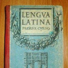 Libros de segunda mano: EDELVIVES. LENGUA LATINA. PRIMER CURSO. Lote 149322666
