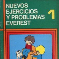 Libros de segunda mano: CUADERNO COLEGIO - NUEVOS EJERCICIOS Y PROBLEMAS EVEREST. Lote 149851386