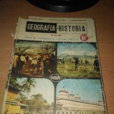 Libros de segunda mano: GEOGRAFIA E HISTORIA 6º EGB AREAS EXPERIENCIA LIBRO CONSULTA HSR 1ª EDICION 1972. Lote 150560642
