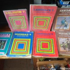 Libros de segunda mano: LIBROS EGB SANTILLANA LOTE. Lote 150638253