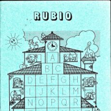 Livres d'occasion: CUADERNO RUBIO ESCRITURA Nº 5. Lote 150701754
