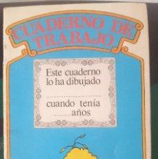 Libros de segunda mano: CUADERNO DE TRABAJO - BARRIO SESAMO. Lote 151277146